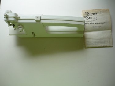 Super Stitch Portable Cordless Sewing Machine - 1973 - Unused