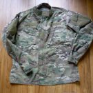 US Army Digital Fatigue Combat Coat Perimeter Insect Guard Flame Resist Med Reg