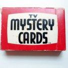 TV Mystery Cards - 1973 Magic Trick Deck of Cards