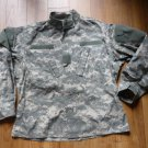 US Army BDU Jacket - Medium Short Digital Camo Wind Resistant Ripstop Coat