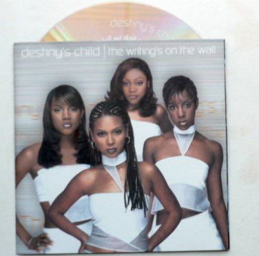 The Writings on the Wall CD by Destinys Child