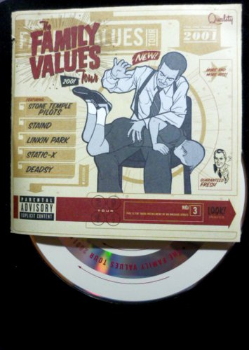 Family Values 2001 Tour CD by Various