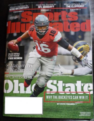 Sports Illustrated December 12 2016 Ohio State on Cover