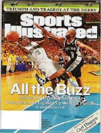 Sports Illustrated Magazine May 12 2008 Chris Paul Kentucky Derby