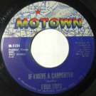 If I Were A Carpenter - Wonderful Baby 45 rpm Four Tops