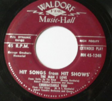 Hit Songs from Hit Shows - George Gershwin Memorial