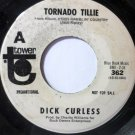 Big Foot / Tornado Tillie 45 rpm by Dick Curless