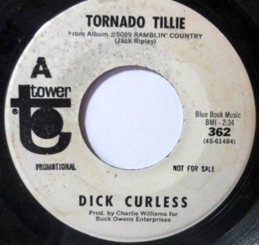 Big Foot / Tornado Tillie 45 rpm by Dick Curless