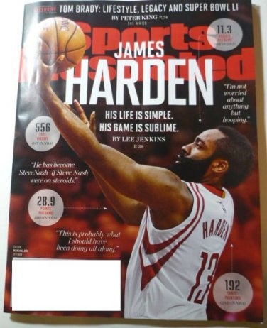 Sports Illustrated March 6 2017 James Harden On Cover