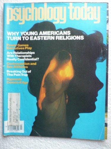 Psychology Today Magazine July 1977