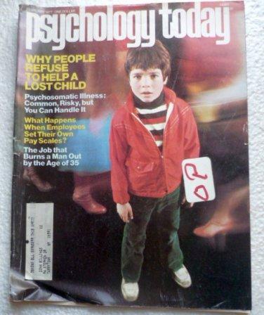 Psychology Today Magazine February 1977