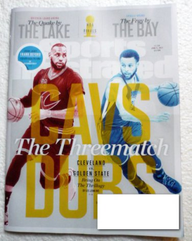 Sports Illustrated June 5 2017 - The Threematch - NBA Playoffs