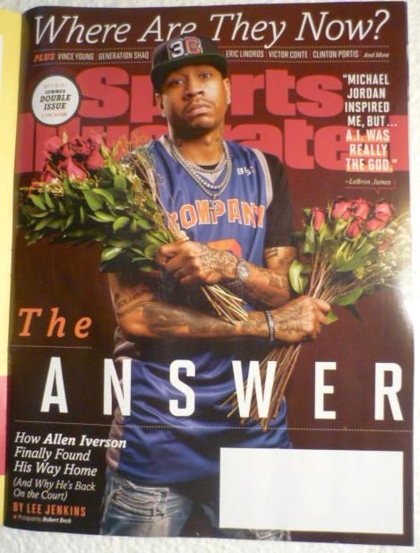 Sports Illustrated Magazine July 3-10 2017 The Answer How Allen Iversonon Cover