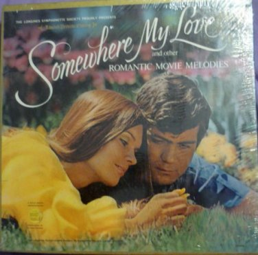 New Longines Lp Box Set Somewhere My Love Romantic Movie Melodies Sealed