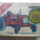 Ertl Farmall 350 Tractor 1991 Iowa FFA 1st Edition Toy Tractor 1/16 in Box
