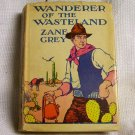 Zane Grey Wanderer of the Wasteland 1923 G & D