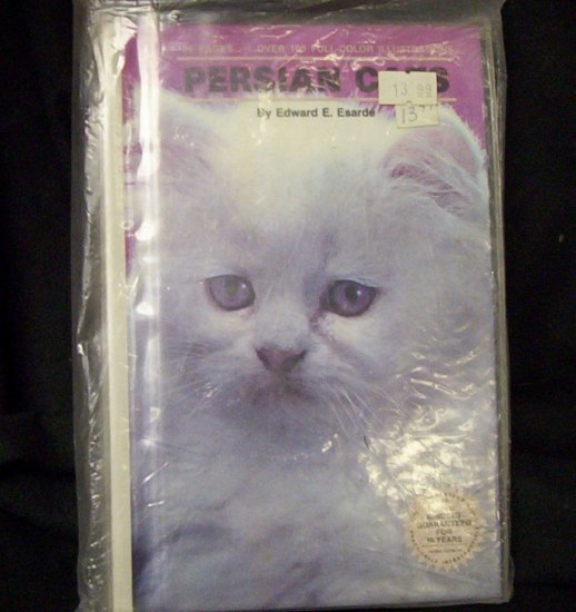 PERSIAN CATS By Edward E. Esarde