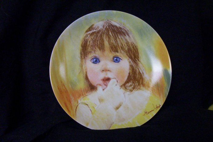 "Frances Hook ""Fascination""  Plate"