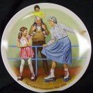 Joseph Csatari &quot;The Skating Queen&quot; plate