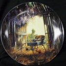 Country Nostalgia &quot;The Spring Buggy&quot; A plate by Maurice Harvey
