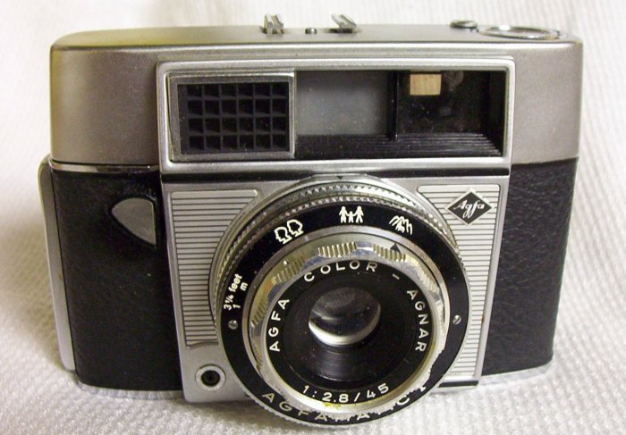 AGFAMATIC 1 Camera (AGFA) made in Germany