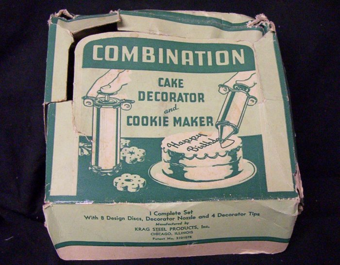Combination Cake Decorator & Cookie Maker (Vintage)