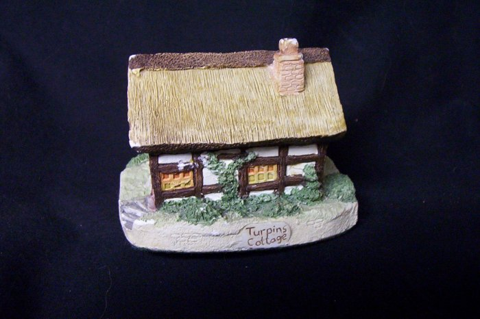 Hand Crafted/Painted Turpins Cottage (1989) J.W. Artist