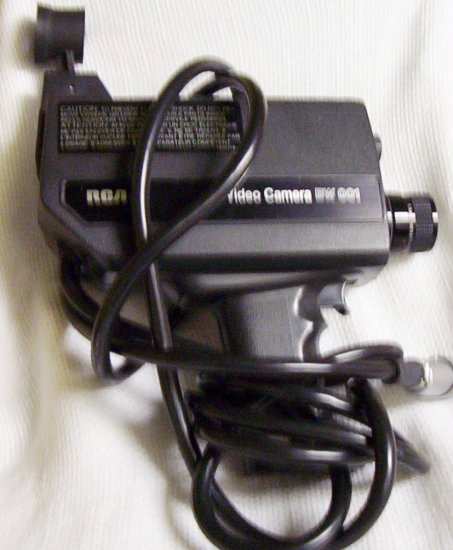 RCA Video Camera BW001 (1977)