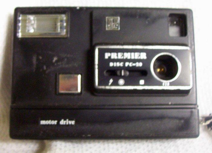 Premier Disc PC ~ 20 Motor Drive Disc Camera