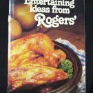 Entertaining Ideas from Rogers' late '50's early 60's