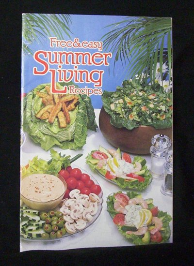 Free & Easy Summer Living Recipes by Hellmann's (1983)