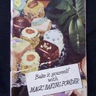 BAKE IT YOURSELF WITH MAGIC BAKING POWDER 1951