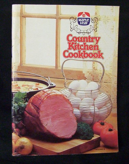 Country Kitchen Cookbook by Maple Leaf