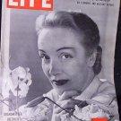 LIFE MAGAZINE August 9, 1948 Marlene Dietrich