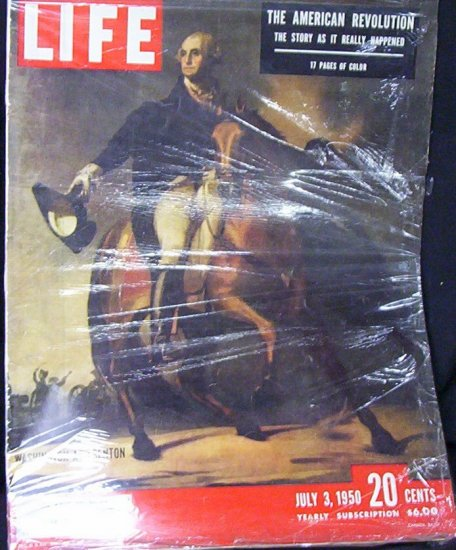 "LIFE MAGAZINE July 3 1950 ""The American Revolution"""
