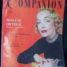 Woman's Home Companion July 1953 Marlene Dietrich
