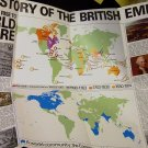 "The Story of the British Empire (Chart 2) The Rise to World Empire  22.5"" x 33"""