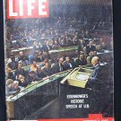LIFE MAGAZINE October 3, 1960 (Eisenhower's Speech at UN)