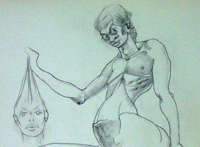 On The Other Side - A Mindset - A.E. (Ted) Ingram - Original artwork