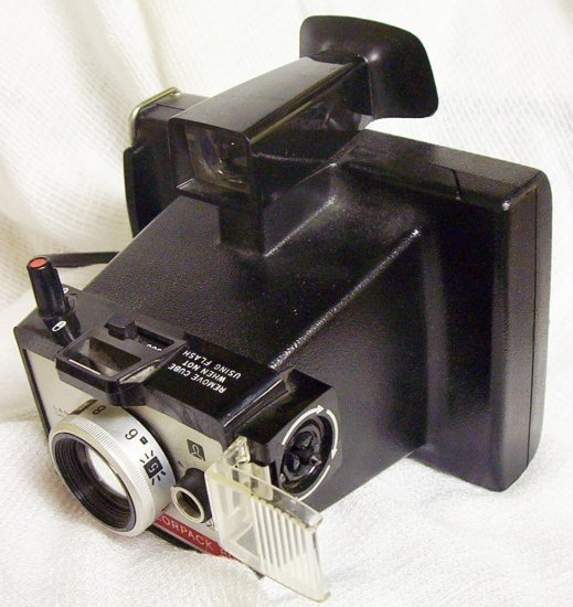 Vintage Polaroid Colorpack 80 Instruction manual included (1971) Made in Canada