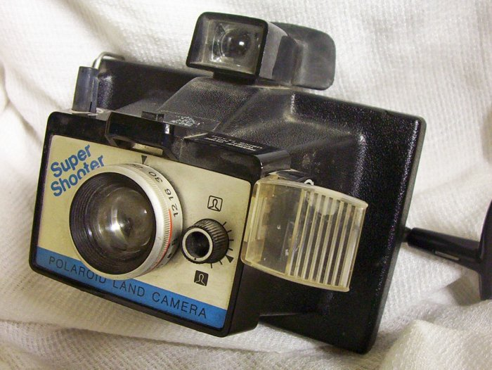 Vintage Polaroid Supershooter (1975) Made in USA