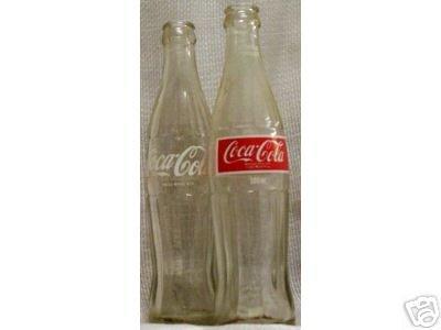 Vintage all glassCoke Bottle (Red Logo) 300ml