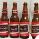 5 Carling Black Label Beer Bottles circa late 1950's 8% Proof Spirit