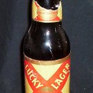 Vintage Lucky Lager Beer Bottle (12 ounce)