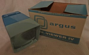 Argus Pre-Viewer IV for 35mm slides & 127 slides NIB