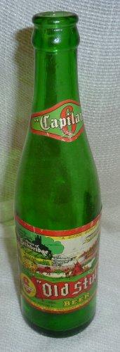 "Vintage Capilano ""Old Style"" Beer 8% Green Bottle"