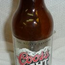 "Coors Light  12 ounce 8"" bottle"