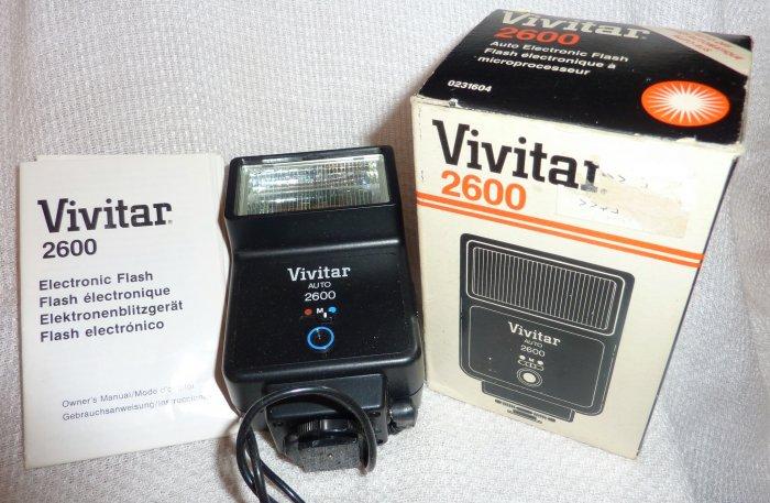 Vivitar 2600 Flash Attachment