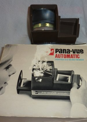 Gaf Pana-Vue Slide Viewer (Battery Operated)