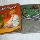 Vintage rare antique Meccano tin box (constructor crane) #1
